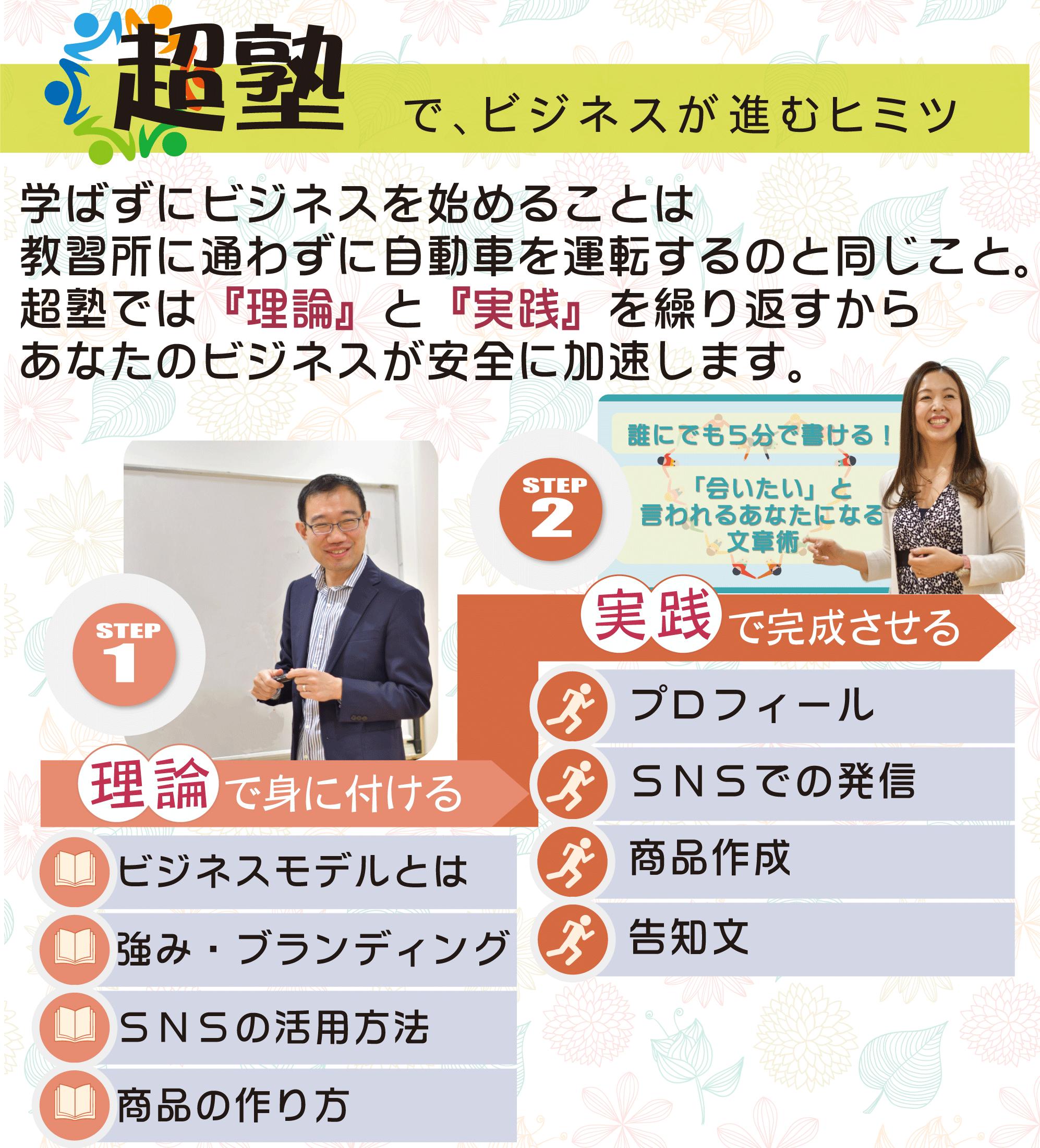 """超塾でビジネスが進むヒミツ"""""""